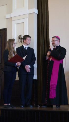 Wizyta Ks. Biskupa w naszej szkole