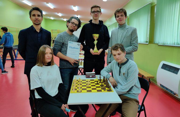 Drużyna szachowa I LO zagra w Finale Wojewódzkim